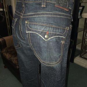 1921 men's bootcut jeans size 36x32 (NEW)